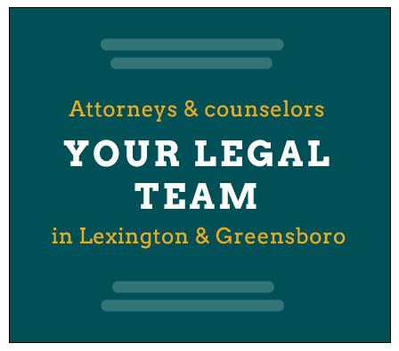 Brinkley Walser Stoner legal team - Lexington & Greensboro