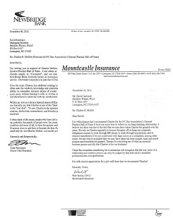 Example Of Recommendation Letter To Practice Law In North Carolina