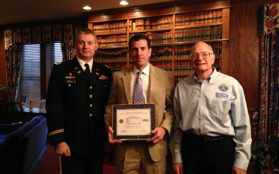 Firm Recognized for Outstanding Employer Support of Guard and Reserve