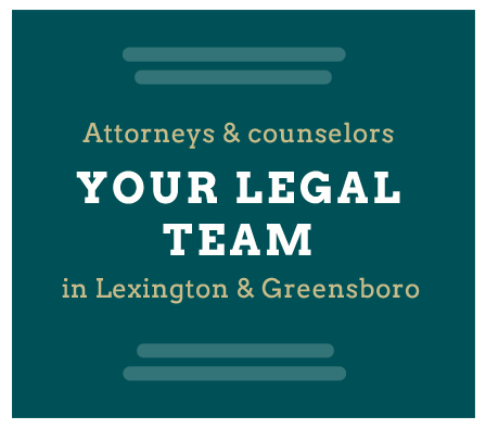 Brinkley Walser Stoner legal team - Lexington & Greensboro