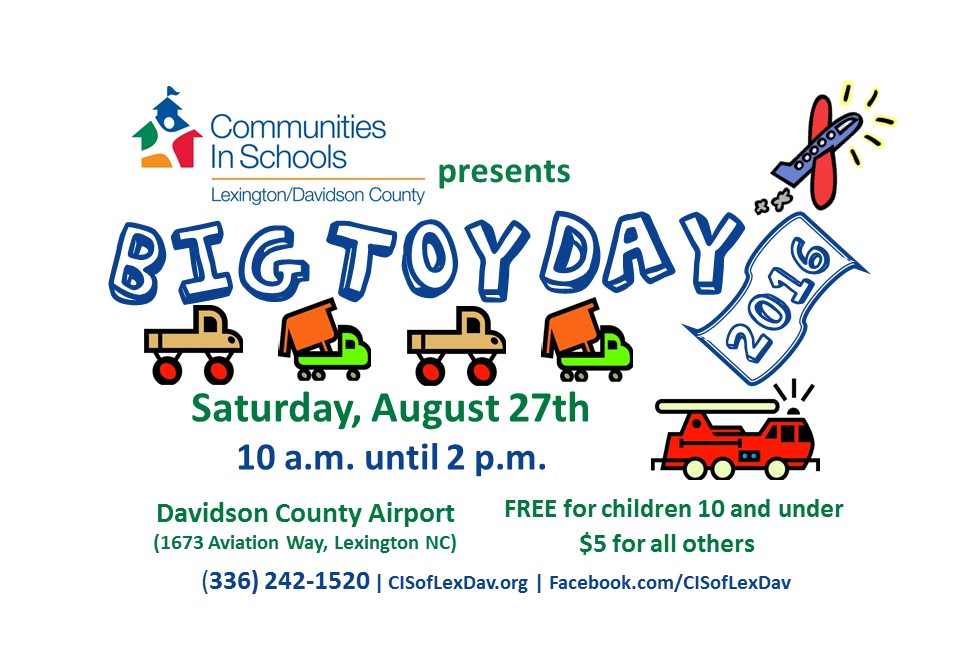 Big Toy Day 2016 This Weekend!