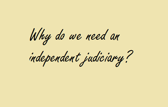 An Independent Judiciary in NC