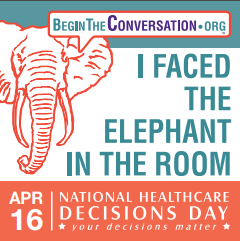 National Healthcare Decisions Day Events 2018